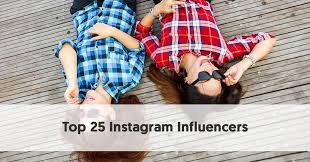 top 25 insram influencers free