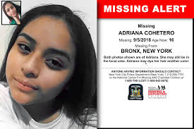 New York - ADRIANA COHETERO - Missing Alert