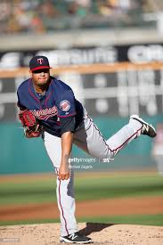 Adalberto Mejia of the Minnesota Twins pitches during the game ...