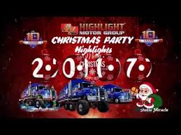 highlight motor group christmas party