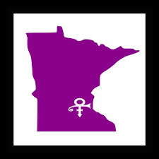 State Car Decal Minnesota Mn Window Sticker Vinyl Decal Custom Decal Chanhassen Mn In Memory Of Prince Purp Custom Decals Window Stickers Vinyl Decals