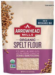 organic spelt flour arrowhead mills