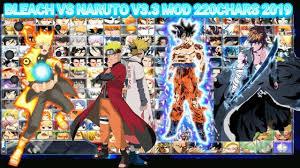 Bleach VS Naruto MUGEN 3.3 MOD 220 CHARS 2019 {DOWNLOAD} - YouTube