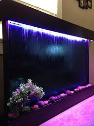 waterfall wall color changing lights