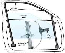 power window motor switch replacement