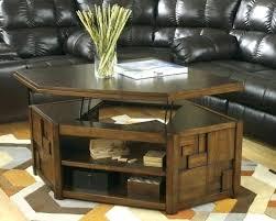 likable lift top coffee table set