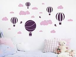 New No Cost Wall Decal Set Clouds And Hot Air Balloons Wandtattoo De Popular Got Kids You Then Kids Room Design Balloons Wall Decals