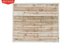 Waney Lap Fencing Panels Clitheroe Lancashire Greenview Sheds Fences Ltd