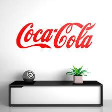 Wall Decal Coca Cola Bigger Muraldecal Com