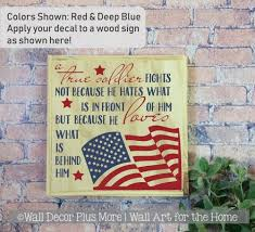 Collection Of Military Wall Decals And Military Vinyl Quotes For The Walls