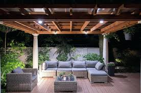 patio cover lighting ideas howtoblog co
