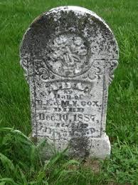 Ada Cox (1875-1887) - Find A Grave Memorial