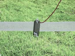 Electric Fence Connectors Including Polywire Polytape Connectors