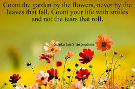smile quotes pictures count the garden by the flowers