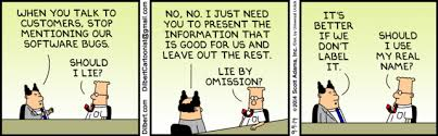 Image result for cartoon downplaying crisis dilbert