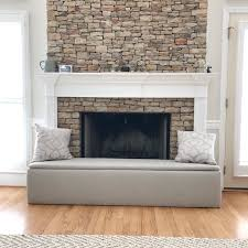 how to make a fireplace hearth cover