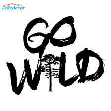 New Style Go Wild Nature Car Decal Hiking Car Decals Vinyl Adventure Window Bumper Car Sticker Waterproof Hot Selling L600 Car Stickers Aliexpress