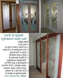 decorative doors interior painted metal
