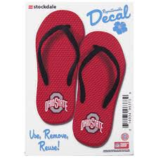Ohio State Buckeyes 5 X 7 Flip Flop Decal