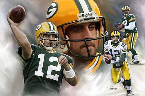 Image result for Nfl Lockout News Aaron Rodgers Super Bowl Mvp Xlv Green Bay Packers Unofficial Team Workouts""