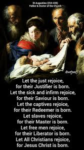 quote of the day rejoice for jesus christ is born