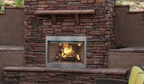 outdoor wood burning firebox