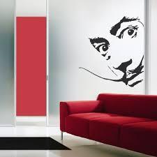 Creative Design Salvador Dali Wall Decal Art Home Deco Vynil Etsy