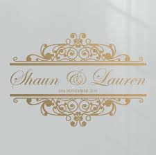 Premium Custom Name Date Wedding Dance Floor Event Decor Sticker Vinyl Decal Ebay