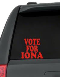Vote For Iona Hoodie
