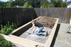 gopher proof an existing raised bed