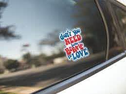 Bernie Sanders Sticker Bernie Sanders 2020 Laptop Decal Love Sticker Bernie Sanders 2020 Bumper Sticker Vinyl Sticker Love Stickers Laptop Decal Bernie Sanders