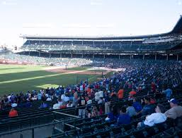 wrigley field section 203 seat views