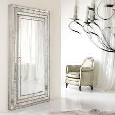 jewelry armoire storage floor mirror