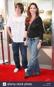 Melissa Gilbert avec fils Michael première mondiale de nés pour ...