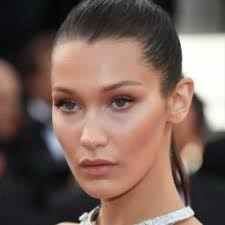 bella hadid inspired contour tutorial