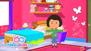 Learn About The Bedroom Learning Songs Collection For Kids And Children Happy Kids Youtube