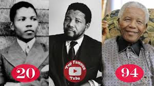 Nelson Mandela | Transformation From 18 To 95 Years Old - YouTube