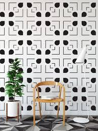 Geometric Line Rain Drop Wall Decal Wall Star Graphics