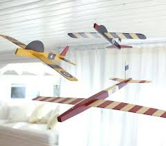 Hanging Clipper Planes Pottery Barn Kids Kids Bedroom Decor Baby Boy Room Decor Baby Boy Rooms