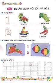 Sách Tủ Sách Bé Vào Lớp 1 - Bé Vui Học Toán (Dành Cho Trẻ Mẫu Giáo 4 - 5  Tuổi) - Tái Bản 2020 - FAHASA.COM