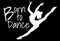 Amazon Com Born To Dance Ballerina Contemporary Dance Dancer Vinyl Decal Sticker White Cars Trucks Vans Suv Laptops Wall Art 5 5 X 5 Cgs730 Computers Accessories