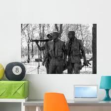 Vietnam Veterans Memorial Statue Wall Decal Wallmonkeys Com