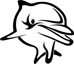 Animal Car Decals Car Stickers Dolphin Car Decal 04 Anydecals Com
