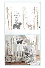 Levtex Baby Bailey Vinyl Wall Decal In Brown In 2020 Baby Room Decals Woodland Baby Room Baby Nursery Wall Art