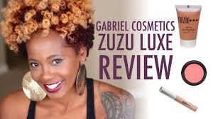 gabriel cosmetics zuzu luxe