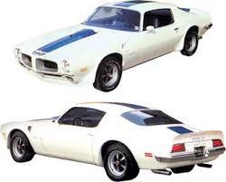1971 Pontiac Firebird Parts Emblems And Decals Stencils And