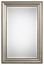 decor noel beaded beveled wall mirror