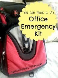 make a diy office emergency kit