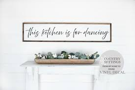 This Kitchen Is For Dancing Vinyl Decal Wall Art Farmhouse Vinyl Kitchen Decals Kitchen Vinyl Decals In 2020 Kitchen Vinyl Decals Decal Wall Art Vinyl Wall Decals