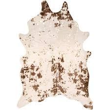stylewell iraida faux cowhide off white